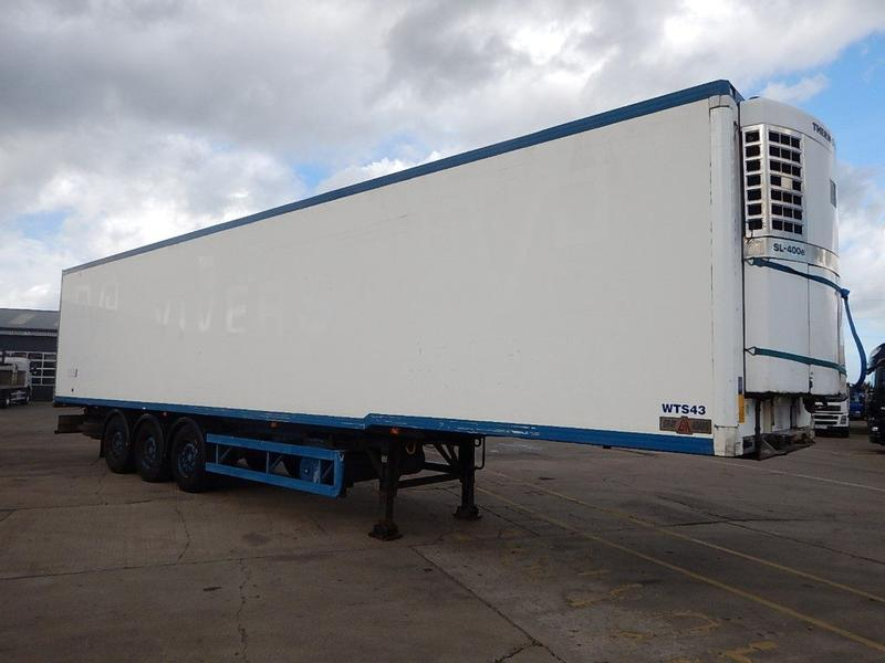 GRAY AND ADAMS 44FT BOX TRAILER - 2004 - C142053