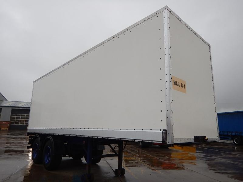 ASTRO 26FT TANDEM AXLE BOX TRAILER - 1990 - MAIL 8-1