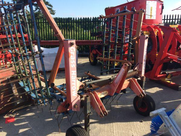 Opico 4.5m Grass Harrow - £1,350 +vat