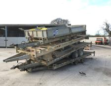 Sonstige Stack Of 4 Ifor Williams Flat Bed Trailers