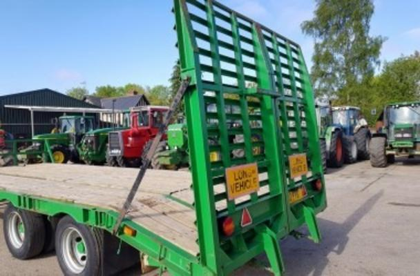 21' TANDEM AXLE MACHINERY LO LOADER