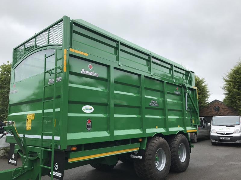 BROUGHAN 16 Ton SILAGE