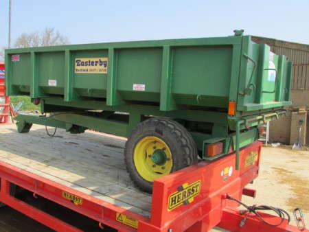 EASTERBY 4 tonne Tipping Trailer, 2007
