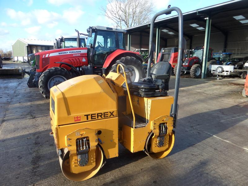 Terex TV800 TWIN DRUM ROLLER