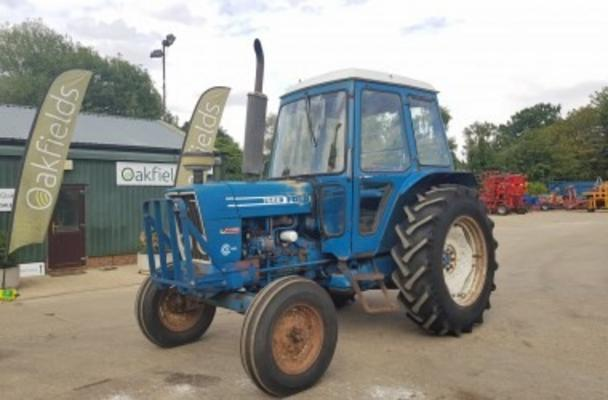1980 FORD 7600 DUAL POWER 2WD TRACTOR
