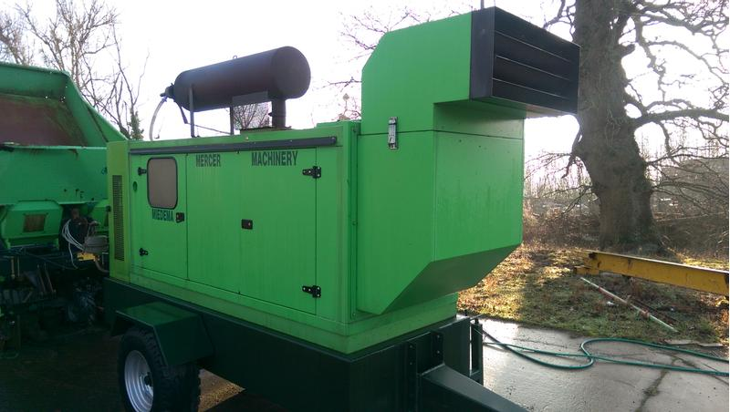 MIEDEMA MERCER MACHINERY 125 PUMP UNIT