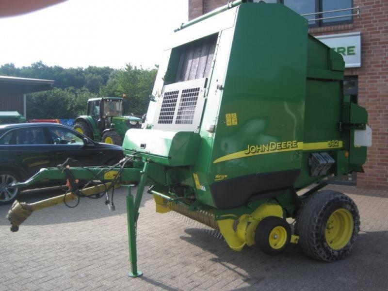 John Deere 592Hi Flow CoverEdge
