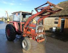 Massey Ferguson 590 loader tractor