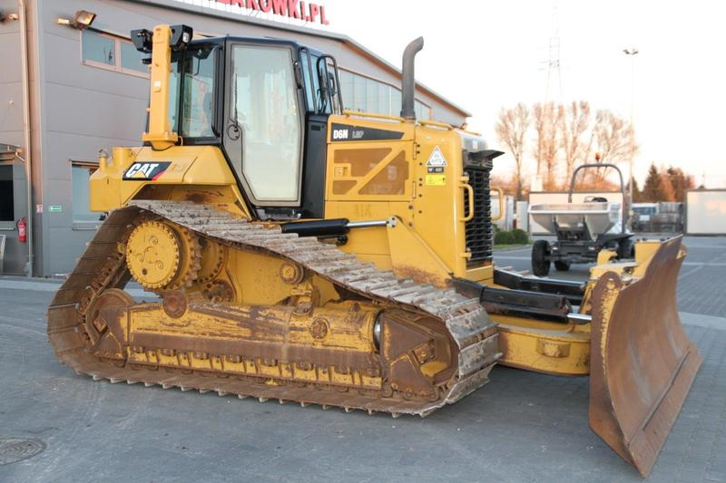 CAT CRAWLER DOZER CATERPILLAR D6N LGP