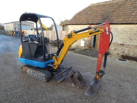 JCB  8018 CTS TRACKED DIGGER