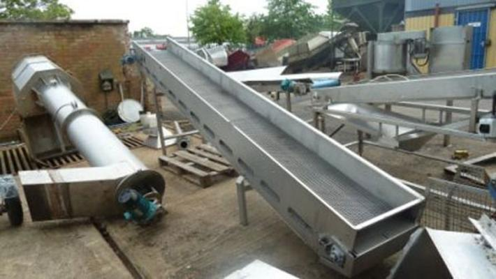 Other Stainless steel dewatering conveyor (3). 18',12' & 14.