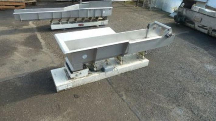 Other Stainless steel, Wright, vibrating conveyors. Choice of 4.