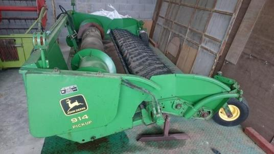 used 3.96m pickup for combine harvester JOHN DEERE 914 d'occasion