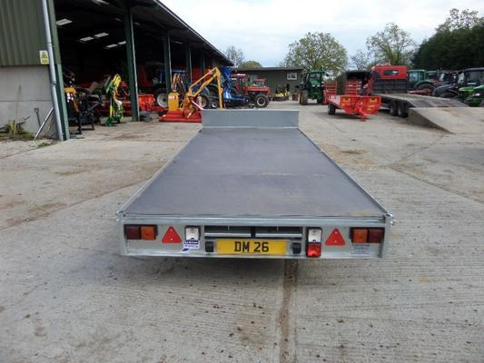 Ifor Williams  16FT TRI AXLE FLAT BED TRAILER