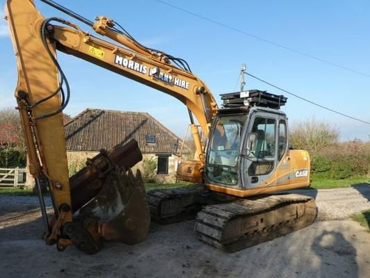 Case  cx130 tracked digger