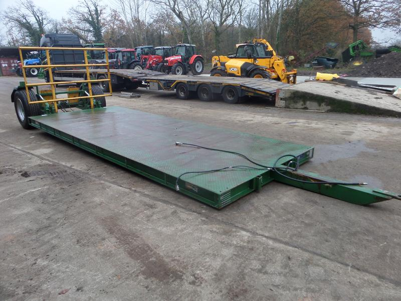 Warwick FLATBED LOW LOADER TRAILER