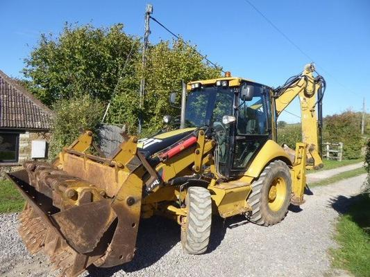 Caterpillar CAT 428E WHEELED DIGGER