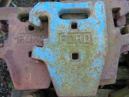 Ford Used  Weights