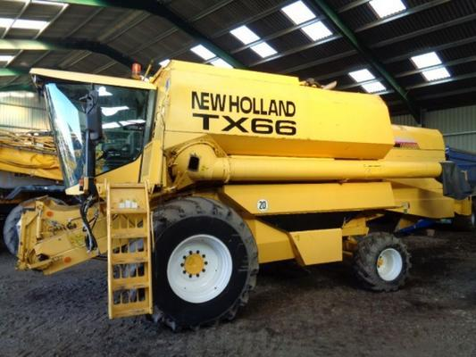 New Holland Used  TX66 Combine