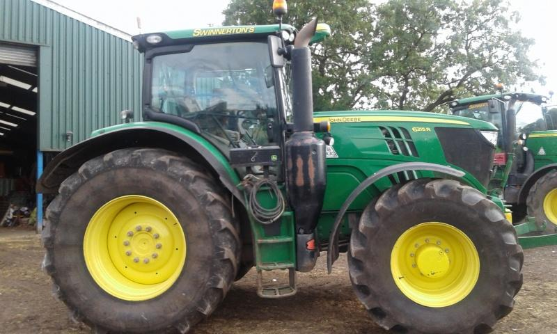 John Deere 6215R tractor for sale