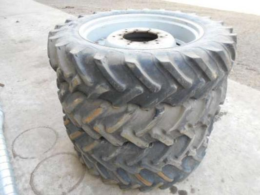 Alliance Used 12.4/36 Wheels And Tyres X 4
