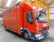 Daf LF45 4 X 2 12 TONNE CURTAINSIDE GLASS CARRIER - 2009 - YJ09 EMF