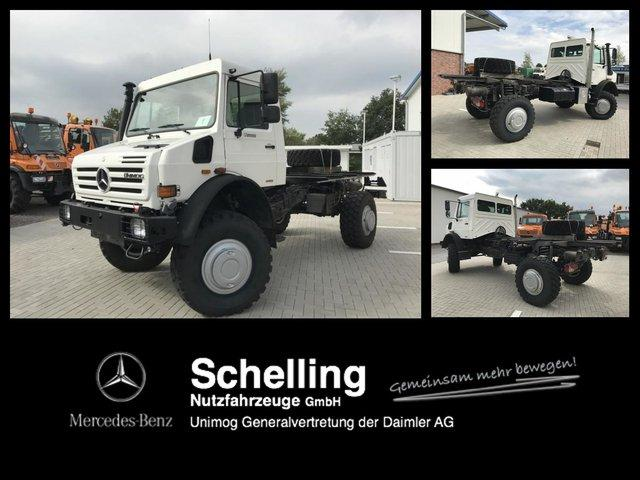 Mercedes-Benz U 5000 - Camper - Wohnmobil - Expedition -Kran