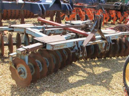 PARMITER FORCE 10ft Mounted X Pattern disc harrows