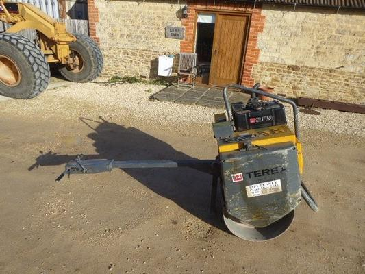 Benford TEREX  SINGLE DRUM ROLLER