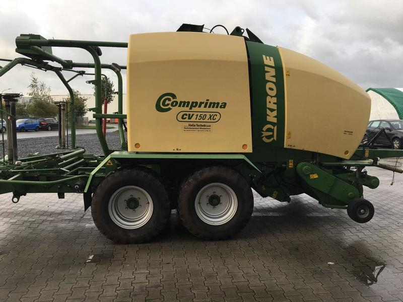 Krone Comprima 150 XC Press- wickelkombination