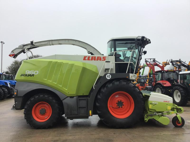 Claas Jaguar 960 Forager 4WD