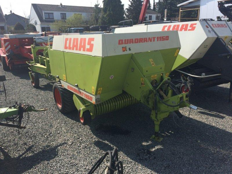 Claas QUADRANT 1150 + Duo Pack