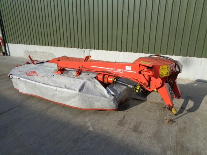 Kuhn FC283 Mounted Mower Conditioner