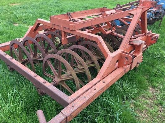 FARM FORCE PLOUGH FURROW PRESS