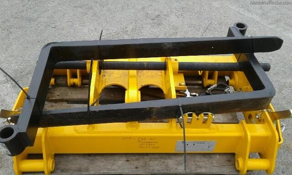 JCB Qfit Headstock and Pallet Forks