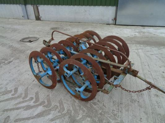 Lemken Used  1.40 Meter Furrow Press