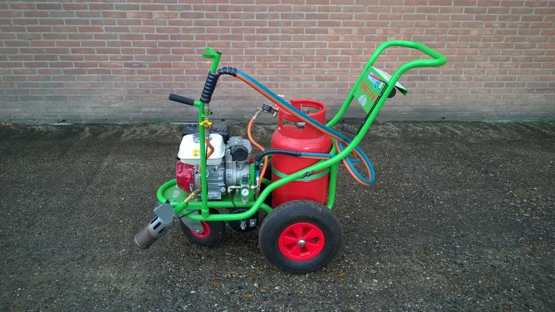 Weedcontrol onkruidbrander Air trolly pack