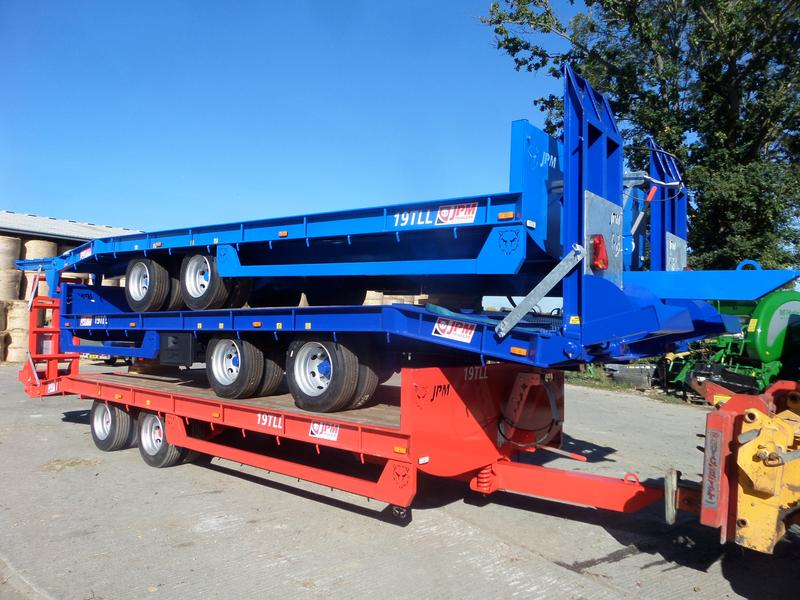 JPM 24FT LOW LOADER TRAILER