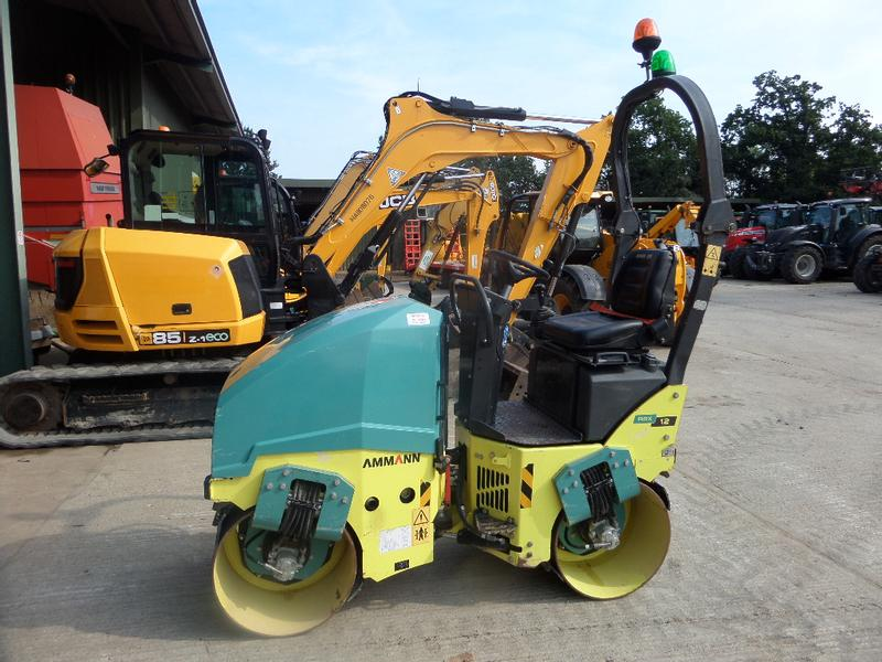 Ammann ARX12 TWIN DRUM ROLLER
