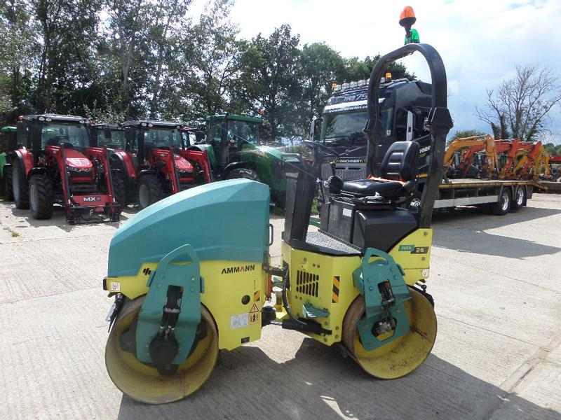 Ammann ARX 26 TWIN DRUM ROLLER