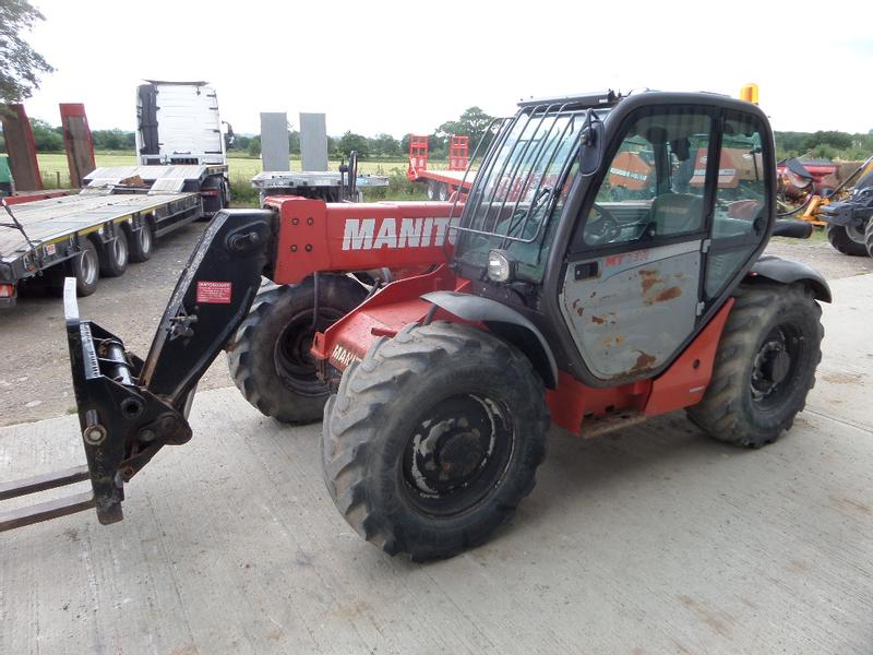 Manitou MT 732 LOADALL