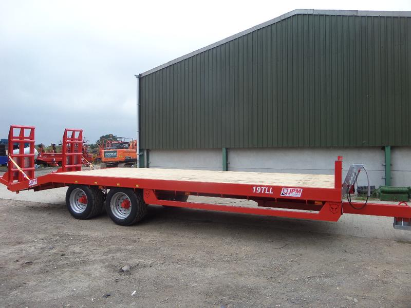 JPM 27FT LOW LOADER TRAILER