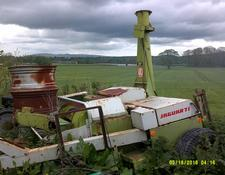 Claas 71 trailed forage harvester for sale