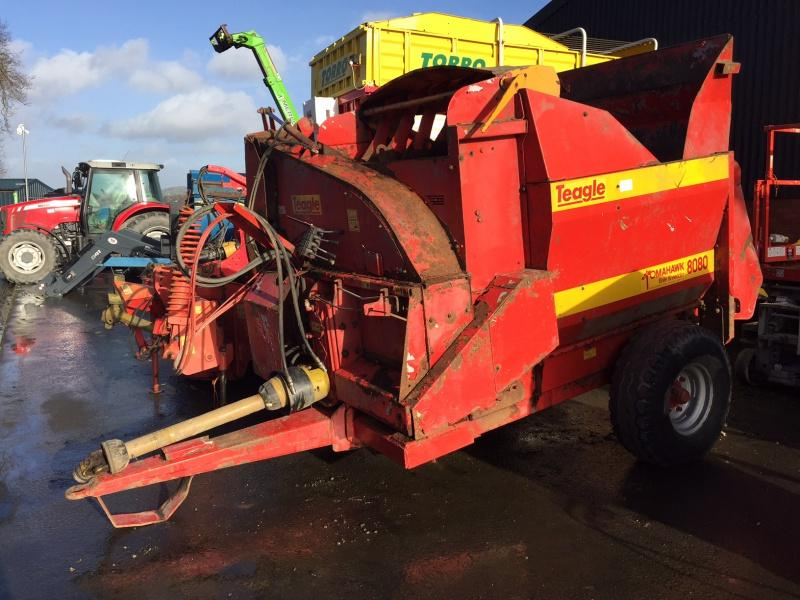 Teagle 8080 Feeder Bedder For Sale