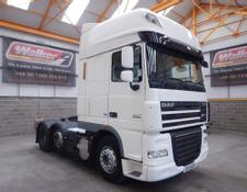 Daf XF105 460 SUPERSPACE EURO 5, 6 X 2 TRACTOR UNIT - 2013 - EY13 UZX