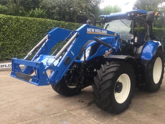 New Holland T6.180 50KPH c/w 750TL Loader