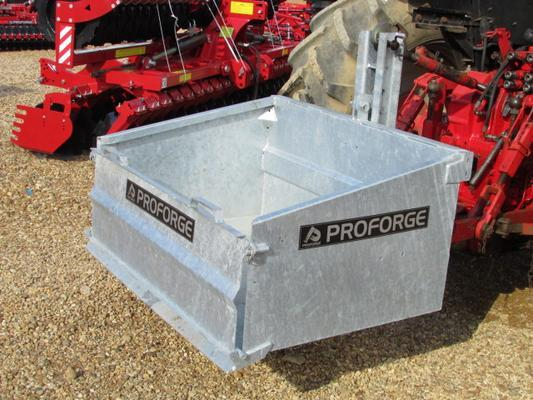 Other Proforge Galvanised Tipping Transport Box 4ft, 3 pt linkage,