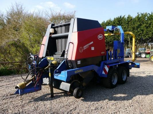 Vicon  RV 1601 Opticut Bale Wrapper Combination