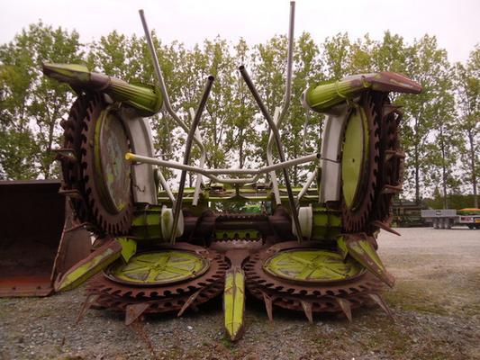 Claas Self-Propelled Forage Harvesters Claas RU600 Xtra Maize Header
