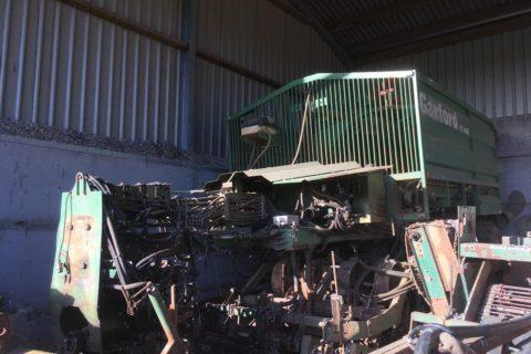 GARFORD TRAILED SUGAR BEET HARVESTER VT 440